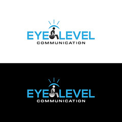 Eye Level Communication Logo (Designer_MMM) Tags: awsome eye logo tigers tshart template stationary contraction creative plastic creativedesign night awesome angry valentine pad madical fashion yogaflayer education choir school inviolable simply middle juice office business music professional