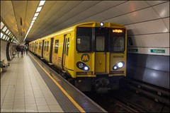 Merseyrail 507005 (Mike McNiven) Tags: merseyrail sercoabellio newbrighton jamesstreet liverpool central pep 3rdrail emu electric multipleunit merseyside