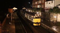 View from the bridge (Duck 1966) Tags: 31271 a1alocomotives emrps llangollenrailway nightime darkness