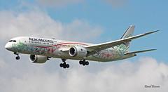 Boeing B787-9 Dreamliner ~ XA-ADL  Aero Mexico (Aero.passion DBC-1) Tags: spotting cdg 2019 dbc dbc1 david biscove aeropassion avion aircraft aviation plane airlines airliner airport roissy boeing b787 dreamliner ~ xaadl aero mexico