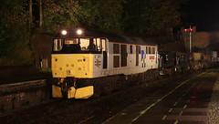Wrong line (Duck 1966) Tags: 31271 a1alocomotives emrps llangollenrailway nightime darkness