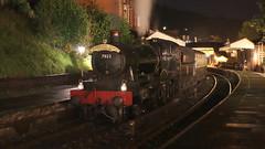 Steam Interlude (Duck 1966) Tags: foxcotemanor 7822 llangollenrailway steam locomitive night emrps nightime darkness