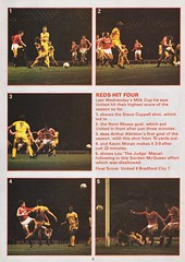 Manchester United vs Southampton - 1982 - Page 8 (The Sky Strikers) Tags: manchester united southampton the milk cup road to wembley old trafford review official season programme 30p