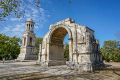 Mausoleum of the Julii and Triumphal Arch, Glanum, Provence, France (antonskrobotov) Tags: mausoleum arch triumphalarch