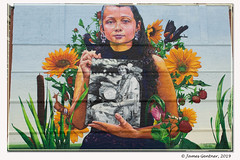 Still here @ Gaiastreetart, 2018 (James0806) Tags: providence rhodeisland usa wallpaintings wallart nativeamericans nativeamericanportraits tomaquagmuseum