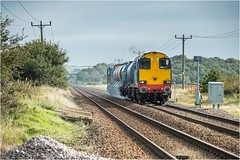 20302 + 20303. Morton. (Alan Burkwood) Tags: morton retford notts drs 20302 20303 diesel locomotive rhtt sheffieldgainsboroughsheffield