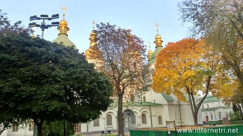 Національний заповідник Софія Київська, осінь  Ukraine  InterNetri 15