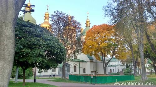 Національний заповідник Софія Київська, осінь  Ukraine  InterNetri 14