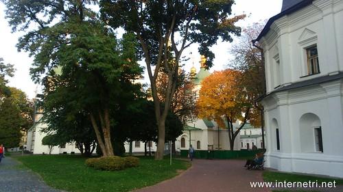 Національний заповідник Софія Київська, осінь  Ukraine  InterNetri 13