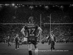Tyrone McCarthy at  full-time-120486 (G I Lyons) Tags: rugbyleague betfredsuperleague grandfinal oldtrafford salfordreddevils sthelens saints trafford greatermanchester unitedkingdom