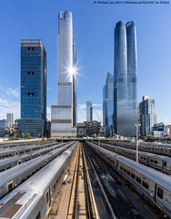 Hudson Yards from the High Line (20191012-DSC05616) (Michael.Lee.Pics.NYC) Tags: newyork hudsonyards architecture cityscape construction highline sony a7rm4 voigtlanderheliar15mmf45