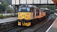 The night ahead (Duck 1966) Tags: 31271 a1a diesel locomotive ballast train llangollen emrps llangollenrailway nightime darkness