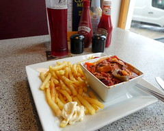 Chilli and Chips with a pint by the seaside (Tony Worrall) Tags: scarborough seaside chips chilli dish yorkshire plate cafe pub inn pint lager drink images photos photograff things uk england food foodie grub eat eaten taste tasty cook cooked iatethis foodporn foodpictures picturesoffood dishes menu plated made ingrediants nice flavour foodophile x yummy make tasted meal nutritional freshtaste foodstuff cuisine nourishment nutriments provisions ration refreshment store sustenance fare foodstuffs meals snacks bites chow cookery diet eatable fodder ilobsterit instagram forsale sell buy cost stock