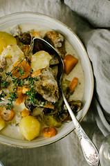 Blanquette de veau facile et rapide (tangerine_zest) Tags: recette blanquette veau carotte patate pommedeterre champignon crème