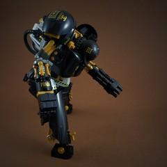 UM Soldat 2 Mech (Marco Marozzi) Tags: lego legomech legodesign legomecha marco marozzi moc mecha mech maschinen mak minifigure krieger robot