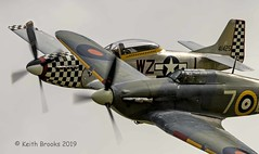 _DSC7506 Hurricane , P51 (keithbrooks) Tags: aircraft airshow oldwarden shuttleworth race day 6th oct 2019 nikond810 tamron150600 g2 topaz ai