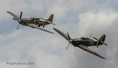_DSC7504 Hurricane P51 (keithbrooks) Tags: aircraft airshow oldwarden shuttleworth race day 6th oct 2019 nikond810 tamron150600 g2 topaz ai