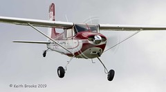 _DSC7383b G-ASIT Cessna 180 (keithbrooks) Tags: aircraft airshow oldwarden shuttleworth race day 6th oct 2019 nikond810 tamron150600 g2 topaz ai