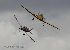 _DSC7376 Bulldog Chipmunk (keithbrooks) Tags: aircraft airshow oldwarden shuttleworth race day 6th oct 2019 nikond810 tamron150600 g2 topaz ai