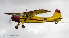 _DSC7282 SP-AAB Yakovlev Yak-12 (keithbrooks) Tags: aircraft airshow oldwarden shuttleworth race day 6th oct 2019 nikond810 tamron150600 g2 topaz ai