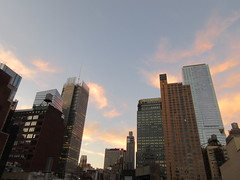 2019 October Orange Clouds and Virtual Clock Tower 5415 (Brechtbug) Tags: 2019 october clouds virtual clock tower turned off from hells kitchen clinton near times square broadway nyc 10132019 new york city midtown manhattan spring springtime weather building dark low hanging cumulonimbus cumulus nimbus cloud hell s nemo southern view