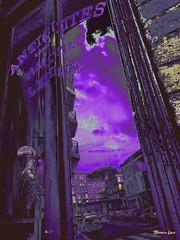 2019-10-13_04-17-36 (sheenaline) Tags: window car sky cloud tree road building street city balcony rouen reflection