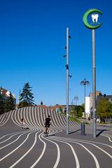 Den Sorte Plads (Håkan Dahlström) Tags: 2019 by copenhagen den denmark köpenhamn københavn lines nørrebro plads sorte superkilen capitalregionofdenmark f11 xt1 portrait uncropped 0ev normal 20190824142649157 dng 329mm iso200 ¹⁄₃₅₀sek xf1855mmf284rlmois fujifilmxt1