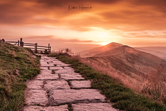 Peak Sunrise! (Nathan J Hammonds) Tags: peak district derbyshire uk england sun sunrise morning dawn long exposure nd filters hill mam tor path clouds beauty