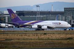 "Thai Airways International Airbus A380-841  HS-TUF  ""Kamalasai"" (M. Oertle) Tags: thaiairwaysinternational airbus a380841 hstuf"