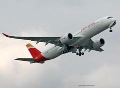 A350-900_Iberia_F-WZNP-001_cn0219 (Ragnarok31) Tags: airbus a350 a350xwb a350900 a350900xwb a359 iberia fwznp