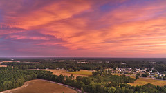 Aerial Sunrise - 101219-070914 (Glenn Anderson.) Tags: aerial trees mostlycloudy sunrise earlyevening mavic2pro dawn clouds cloudsstormssunrisessunsets sky landscape pastels solarreflection morning fall