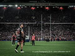 Tyrone McCarthy takes the scene in-120491 (G I Lyons) Tags: rugbyleague betfredsuperleague grandfinal oldtrafford salfordreddevils sthelens saints trafford greatermanchester unitedkingdom