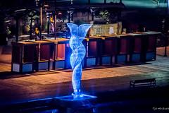 2019 - HAL Alaska Cruise - 19 - Juneau Fluke Sculpture (Ted's photos - For Me & You) Tags: 2019 alaska alaskacruise cropped juneau juneaualaska nikon nikond750 nikonfx tedmcgrath tedsphotos usa vignetting aquilean juneauaquilean aquileanjuneau sculpture juneauwaterfrontpromenade nightscene nightlighting fluke whalefluke juneauflukesculpture