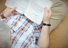 Reading (malcyL) Tags: portrait self reading