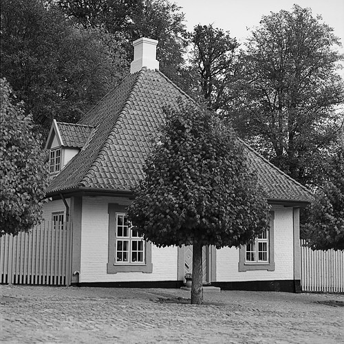 Huse bag porten, Fredensborg Slot