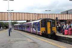 sheffield 150201 (brianhancock50) Tags: railway rail railways train trains dmu class150