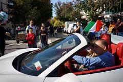 Ferrari (dtanist) Tags: nyc newyork newyorkcity new york city sony a7 7artisans 35mm brooklyn bath beach bensonhurst columbus day parade italian american fiao ferraricar vehicle