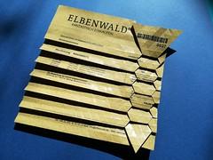 Elbenwald invoice origami (ISO_rigami) Tags: origami tessellation eckhardhennig invoice elephanthide