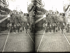 PICT0076 (Dominik Lange) Tags: stereoscopy stereophotography stereoscopic superimposition stereo3d overlay outdoor openspace outside poetry documentary dreams daydream diaries experimental expressionism city urbannature underground urbanspace beamspliter blackandwhite alteredstate abstract asahipentax