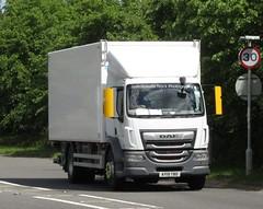 Brakes AY19 TBO At Welshpool (Joshhowells27) Tags: lorry truck daf lf daflf brakes ay19tbo refrigerated