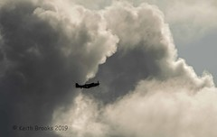_DSC7594 P51 Going Home (keithbrooks) Tags: aircraft airshow oldwarden shuttleworth race day 6th oct 2019 nikond810 tamron150600 g2 topaz ai