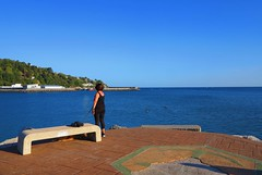 Cielo azul y caluroso (eitb.eus) Tags: eitbcom 16599 g1 tiemponaturaleza tiempon2019 costa gipuzkoa hondarribia josemariavega