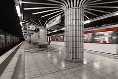 Niendorf Nord (michael_hamburg69) Tags: hamburg germany deutschland ubahn underground station hvv transport niendorfnord ubahnhof phototourmitkatrin metro u2