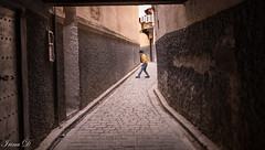 Alone but not lonely (Irina1010) Tags: boy child playing street alone medina narrow fez urban morocco canon outstandingromanianphotographers