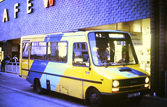 Slide 144-96 (Steve Guess) Tags: eastleigh hants hampshire england gb uk bus station solent blueline iveco daily robin hood