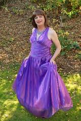 Swing and swish (Paula Satijn) Tags: girl lady dress gown ballgown purple autumn outside satin silk silky shiny happy smile sweet cute adorable chic classy sensual gorgeous beauty elegance feminine skirt tv tgirl tranny transvestite colors joy fun cheerful color lipstick grace