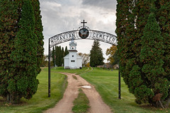 Gate to the Past (Greg Riekens) Tags: zoar religious usa rural midwest church nikond500 countrychurch minnesota architecture steeple moravian clapboard white histroic