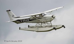 _DSC7778 G-DRAM Cessna 172 (keithbrooks) Tags: aircraft airshow oldwarden shuttleworth race day 6th oct 2019 nikond810 tamron150600 g2 topaz ai