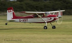 _DSC7333 G-ASIT Cessna 180 (keithbrooks) Tags: aircraft airshow oldwarden shuttleworth race day 6th oct 2019 nikond810 tamron150600 g2 topaz ai