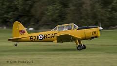 _DSC7318 G-BNZC RCAF 671 DHC-1 Chipmunk (keithbrooks) Tags: aircraft airshow oldwarden shuttleworth race day 6th oct 2019 nikond810 tamron150600 g2 topaz ai